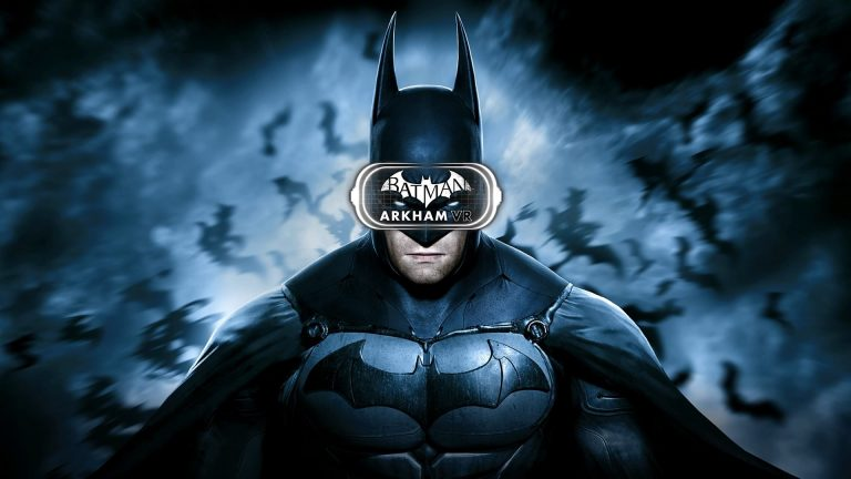 Arkham Batman PS4 VR