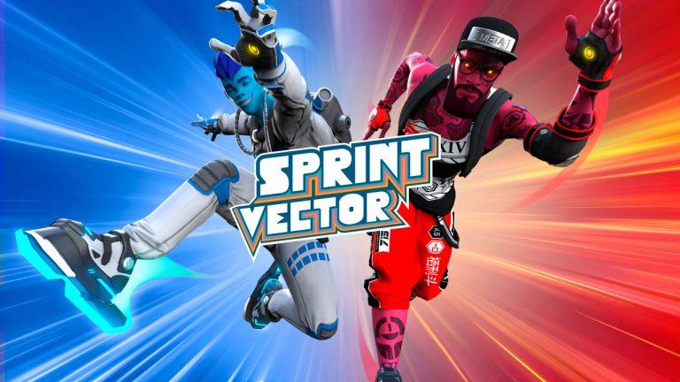 sprint vector juego vr